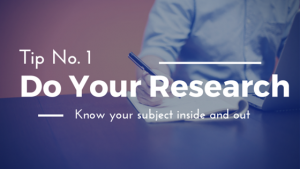 Interview Tips: Do your research MediaBoss