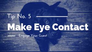Interview Tips: Make Eye Contact MediaBoss