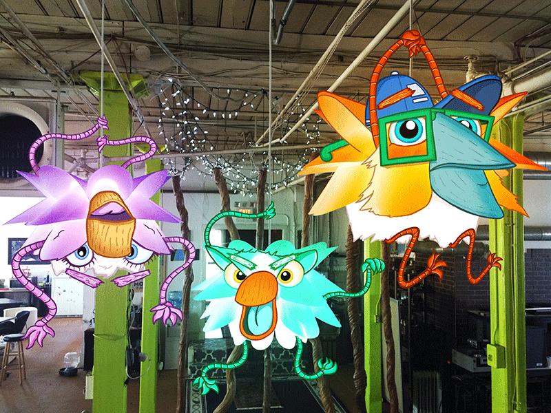 MediaBoss Monster Lights