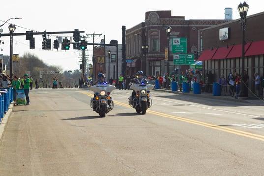 Framingham Police Before the Boston Marathon